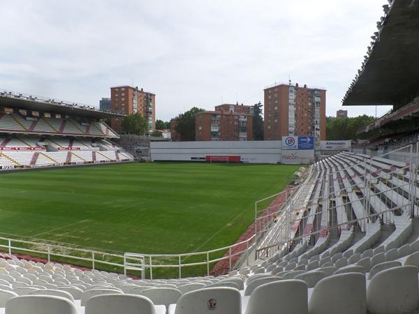 Estadio del Rayo Vallecano (de Vallecas Teresa Rivero)