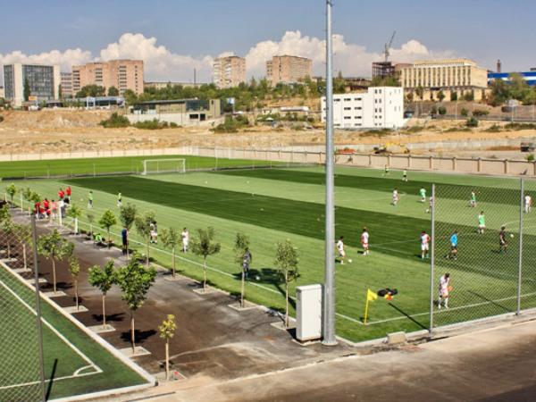 Armenia Football Academy grass